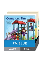 PM Blue Guided Readers Fiction Level 11 Pack x 8 - 9780170398381