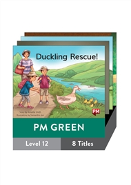 PM Green Guided Readers Fiction Level 12 Pack x 8 - 9780170398404