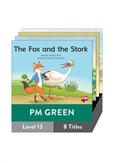 PM Green Guided Readers Fiction Level 13 Pack x 8