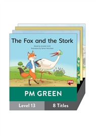 PM Green Guided Readers Fiction Level 13 Pack x 8 - 9780170398411