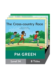 PM Guided Readers Green Fiction Level 14 Pack x 8 - 9780170398428