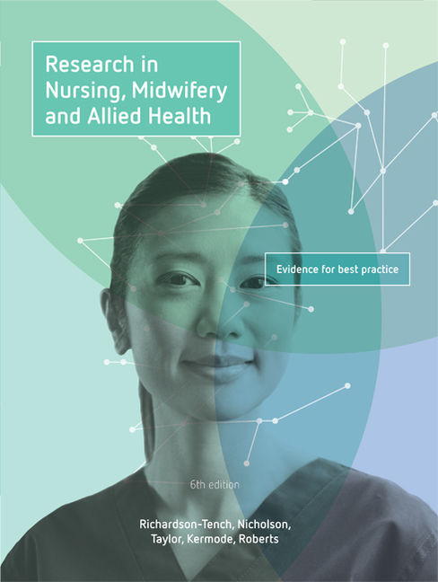 Research in Nursing, Midwifery and Allied Health: Evidence for Best Practice - 9780170398565
