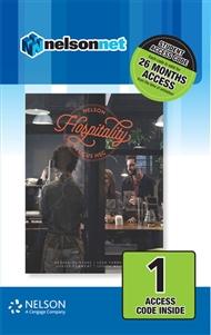 Nelson Hospitality Focus HSC (1 Access Code Card) - 9780170400329
