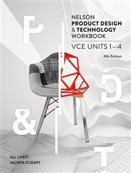 Nelson Product Design and Technology VCE Units 1 – 4 Workbook - 9780170400404