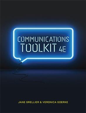 Communications toolkit buy textbook jane grellier communications toolkit fandeluxe Gallery