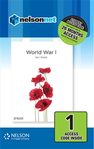 Nelson Modern History: World War I (1 Access Code Card) - 9780170402132