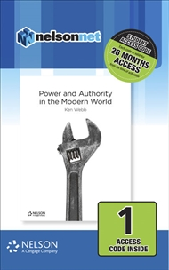 Nelson Modern History: Power & Authority in the Modern World (1 Access Code Card) - 9780170402200