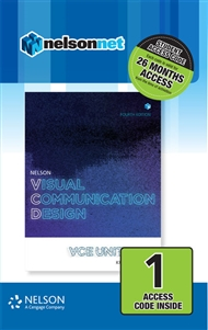 Nelson Visual Communication Design VCE Units 1 – 4 (1 Access Code Card) - 9780170403122