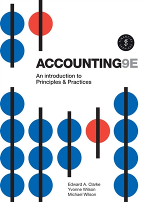 Accounting: An Introduction to Principles and Practice - 9780170403832