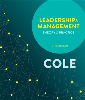 Leadership and Management: Theory and Practice - 9780170403856