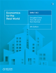Economics for the Real World Units 1 & 2 (Student Book with 4 Access Codes) - 9780170407007