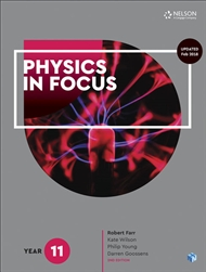 Physics in Focus Year 11 Student Book with 4 Access Codes - 9780170409063