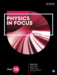 Physics in Focus Year 12 Student Book with 4 Access Codes - 9780170409131
