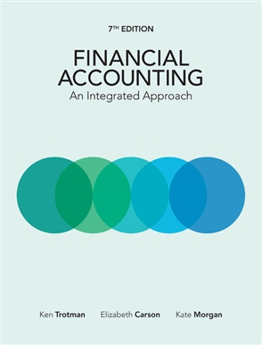 Financial Accounting: An Integrated Approach - 9780170411028
