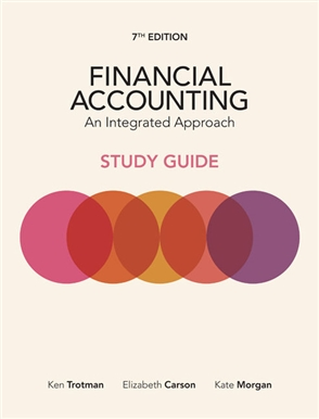 Financial Accounting: An Integrated Approach Student Study Guide - 9780170411042