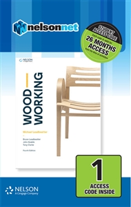 Woodworking (1 Access Code Card) - 9780170411578