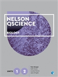 Nelson QScience Biology Units 1 & 2 (Student Book with 4 Access Codes)