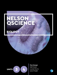 Nelson QScience Biology Units 3 & 4 (Student Book with 4 Access Codes) - 9780170411677