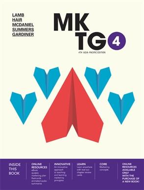 MKTG4 with MindTap - 9780170411769