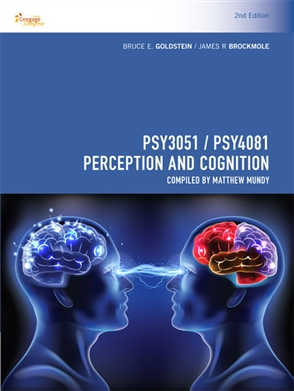 PSY3051/PSY4081 Perception and Cognition - 9780170411790