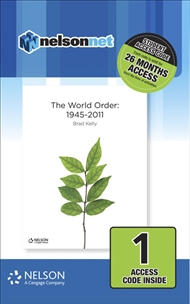 Nelson Modern History The World Order 1945-2011 (1 Access Code Card) - 9780170412216