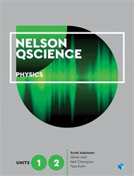 Nelson QScience Physics Units 1 & 2 (Student Book with 4 Access Codes) - 9780170412483