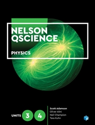 Nelson QScience Physics 3 & 4 (Student book with 4 Access Codes) - 9780170412575