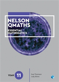 Nelson QMaths 11 Mathematics Essential Student Book with 1 x 26 month access code - 9780170412650