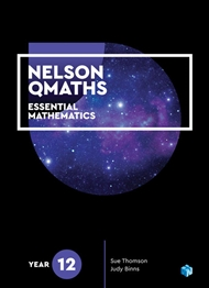 Nelson QMaths 12 Mathematics Essential Student Book with 1 Access Code for 26 Months - 9780170412681