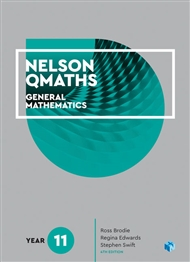 Nelson QMaths 11 Mathematics General Student Book with 4 Access Codes - 9780170412711