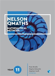 Nelson QMaths 11 Mathematics Methods Student Book with 4 Access Codes - 9780170412858