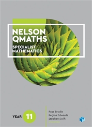 Nelson QMaths 11 Mathematics Specialist Student Book with 4 Access Codes - 9780170412995