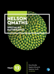 Nelson QMaths 12 Mathematics Specialist Student Book 1 Access Code for 26 Months - 9780170413060