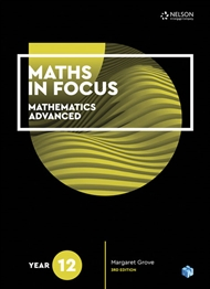 Maths in Focus 12 Mathematics Advanced Student Book with 1 Access Code for 26 Months - 9780170413220