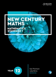 New Century Maths 12 Mathematics Standard 1 Student Book - 9780170413534