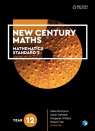 New Century Maths 12 Mathematics Standard 2 Student Book + 4 Access Codes - 9780170413633