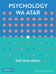 Psychology WA ATAR: Self & Others Units 1 & 2 Student Book with 4 Access Codes - 9780170414173