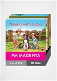 PM Magenta Guided Readers Level 2 Pack x 10