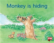 Monkey is hiding - 9780170414524