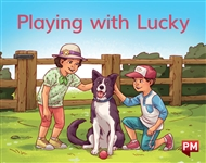 Playing with Lucky - 9780170414531