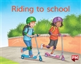 Riding to school