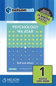 Psychology WA ATAR: Self & Others Units 1 & 2 1 Access Code Card - 9780170415125
