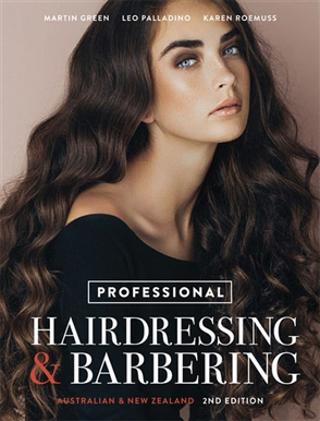 Professional Hairdressing & Barbering: Australian and New Zealand Edition - 9780170415927