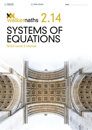 Walker Maths 2.14 Systems of Equations - 9780170416009