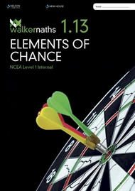 Walker Maths 1.13 Elements of Chance - 9780170416023