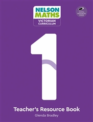 Nelson Maths: Victorian Curriculum 1 Teacher Resource Book + USB - 9780170416795
