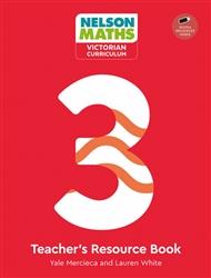 Nelson Maths: Victorian Curriculum 3 Teacher Resource Book + USB - 9780170416818