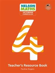 Nelson Maths: Victorian Curriculum 4 Teacher Resource Book + USB - 9780170416825