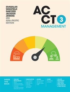 ACCT3 Management - 9780170416863