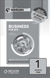 Business for QCE: Units 1 & 2: Creation and Growth (1 Access Code Card)